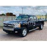 ***RESERVE MET*** CHEVROLET SILVERADO 5.8L V8 LT1 KING-CAB Z71 EDTION**4X4 2007 YEAR**LOW MILES