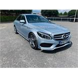 MERCEDES C CLASS C220D AMG LINE 9G - TRONIC - 1 OWNER - 2018 MODEL