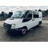 FORD TRANSIT 280 2.2 TDCi (2012 MODEL) 280 SWB *6 SEAT CREW VAN* **LOW MILES** FULL HISTORY