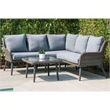 Rattan Florence Outdoor Corner Sofa Set *BRAND NEW*