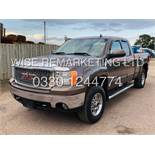 GMC SIERRA 5.3L V8 SLT KING-CAB-5 SEATS**4X4**FRESH IMPORT**METALLIC BROWN**2007 YEAR**