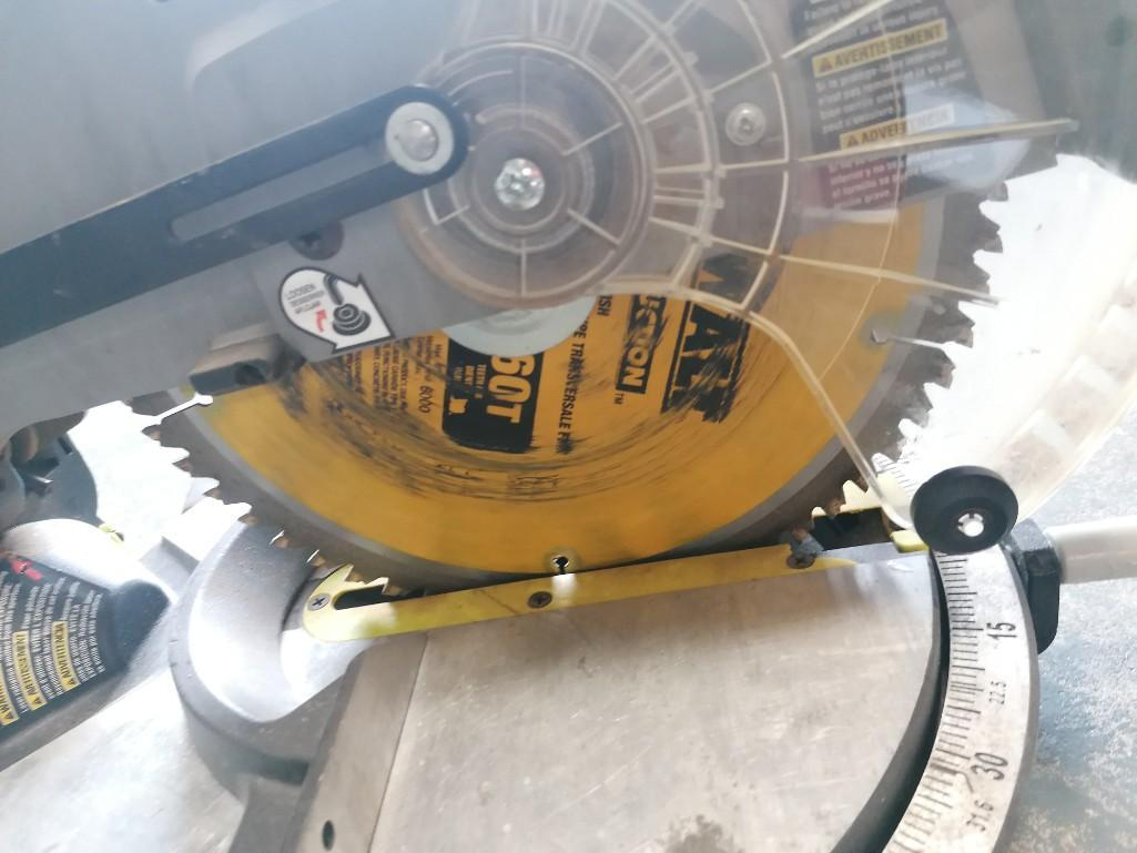 (1) Ryobi TS1345L Compound Miter Saw. Located at 301 E Henry Street, Mt. Pleasant, IA 52641. - Image 3 of 3