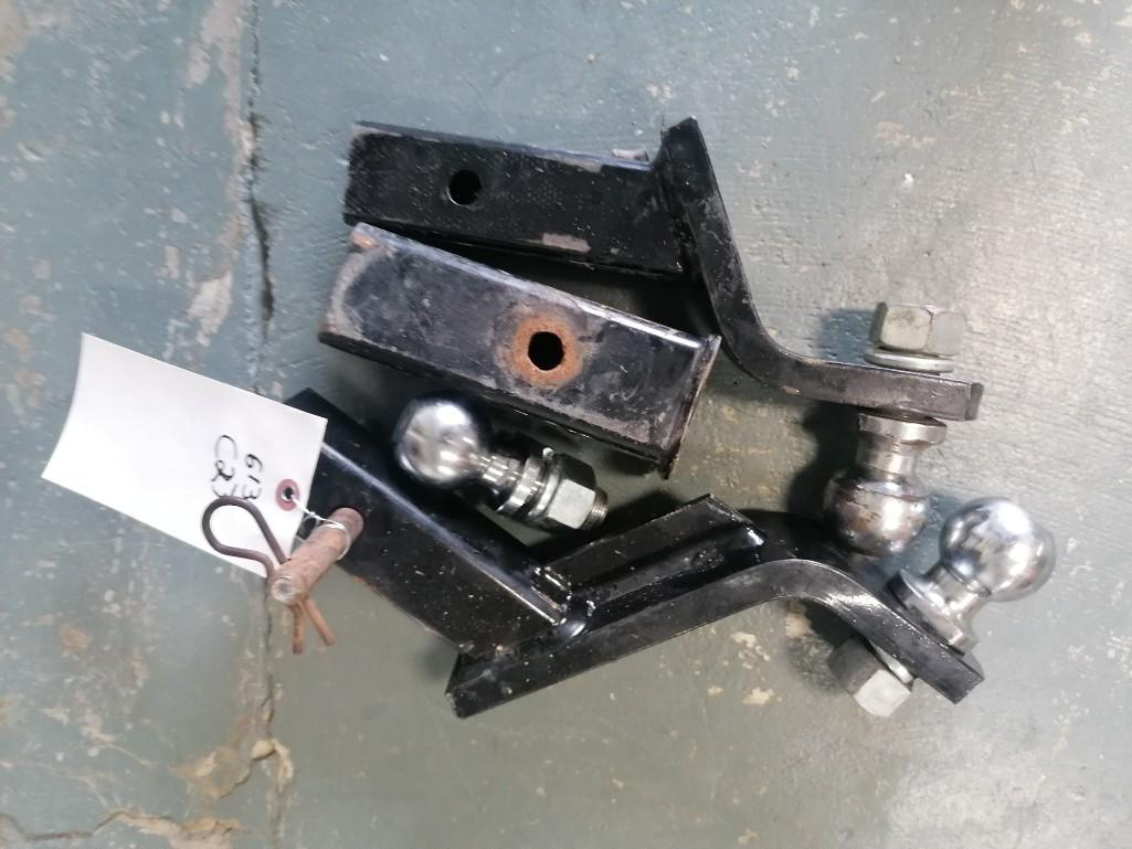 (2) Ball Trailer Hitch. Located at 301 E Henry Street, Mt. Pleasant, IA 52641.