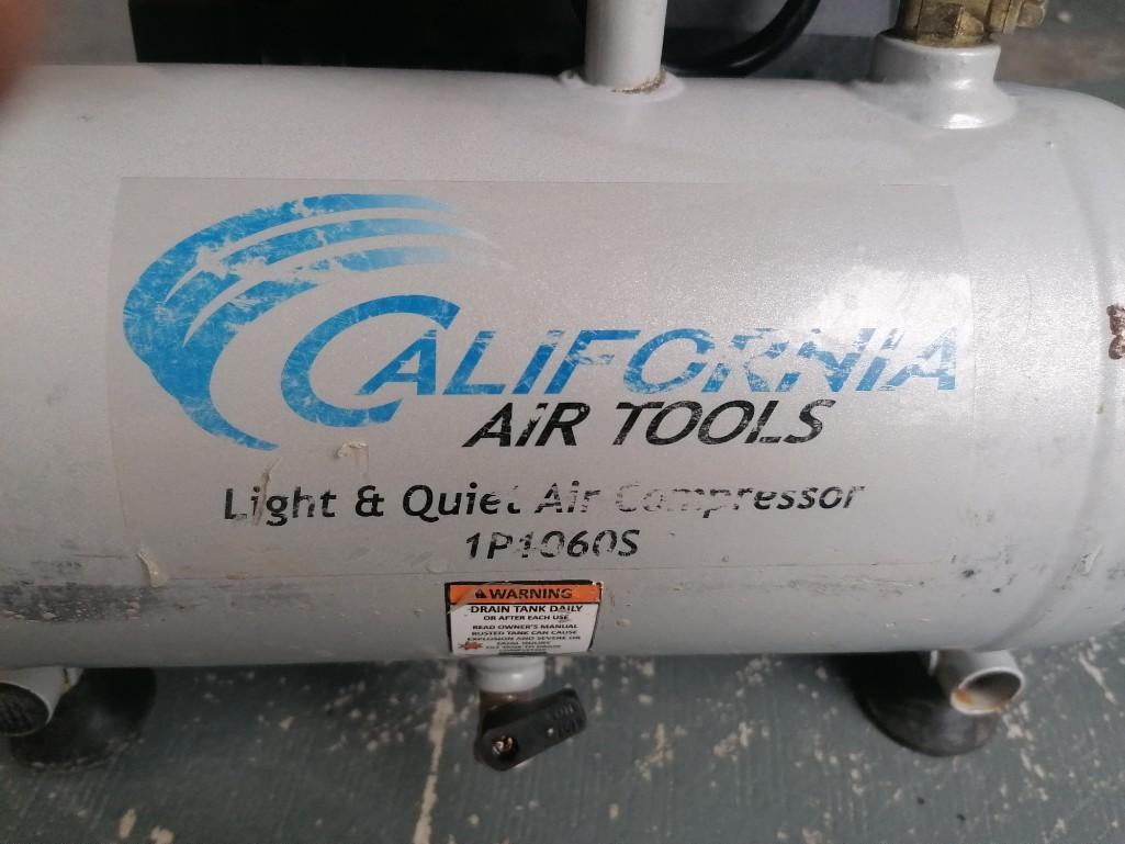 (1) California Air Tools Air Compressor, Model 1P1060S. Located at 301 E Henry Street, Mt. Pleasant, - Image 2 of 3