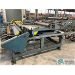 "60"" WIDE DURO DYNE MODEL TM5 INSULATION CUTTING MACHINE; S/N IM8303"