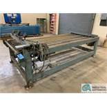 "60"" X 120"" ROLL TYPE TRANSFER TABLE; S/N TT830"