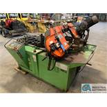"8"" X 12"" FMB MODEL JUPITER AUTOMATIC MITRE HORIZONTAL BAND SAW; S/N 70568, 24"" STROKE WITH PLC"