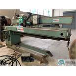 8' PANDJIRIS MODEL 96E836 SEAM WELDER; S/N 600-4403, WITH PANDJIRIS VSC-15-3 SEAM HEAD, VARIABLE