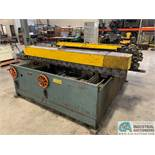 "60"" WIDE ENGEL MODEL M-4616-HD DUPLEX 16-STAND TDF ROLLFORMER; S/N 11279090, 230 VOLT, 3-PHASE,"