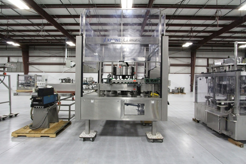 2003 Krones 18 Station Cut and Stack Labeler - Image 3 of 10
