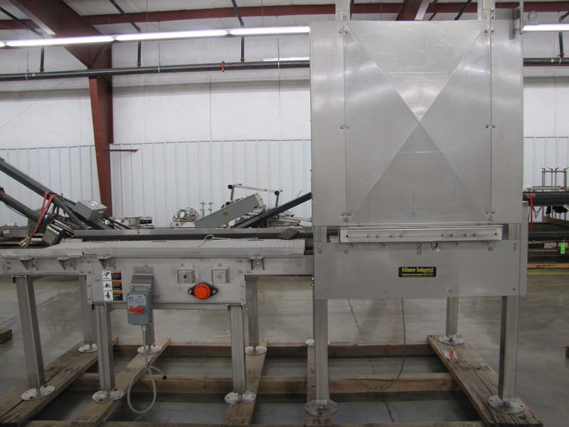 Lot 46 - Alliance Pallet Feeder/Stacker