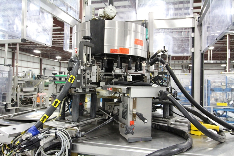 2003 Krones 18 Station Cut and Stack Labeler - Image 7 of 10