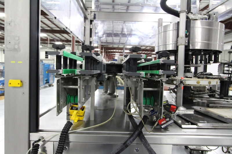Lot 19 - 2003 Krones 18 Station Cut and Stack Labeler