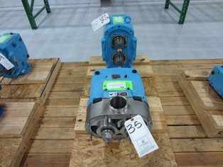 Lot 55 - Waukesha Positive Displacement Pump Heads, Year 2005