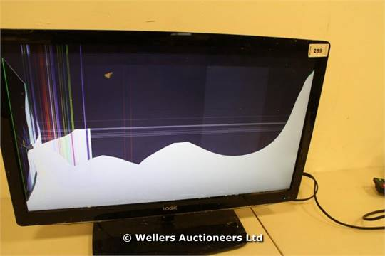 SMALL SCREEN FLAT PANEL TV @LOG L22FED12 (34966220) / WITH