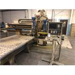 """Komo Model VR 512 2-Spindle 3-Axis CNC Router, S/N 138629, (1995); 144"""" x 60"""", (2) 16 hp Spindles,"""