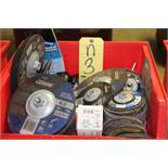 LOT OF GRINDING WHEELS, new (in one box)