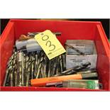 LOT OF DRILL BITS (in one box)