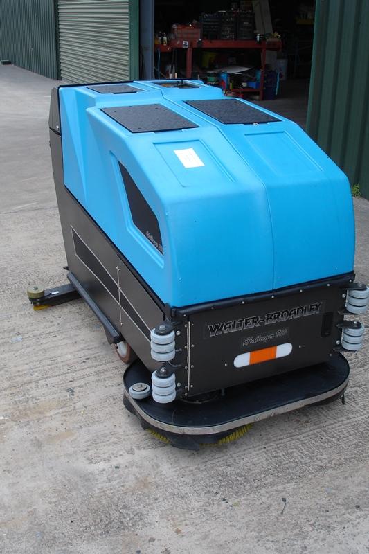 Lot 24 - Walter Broadley Challenger Electric Floor Scrubber- Sweeper