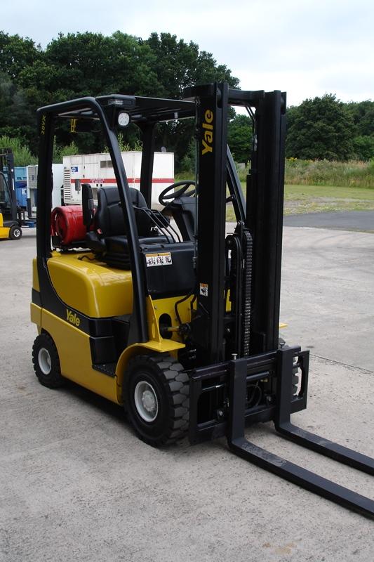 Lot 6 - Yale GLP20SVX Forklift (2011)