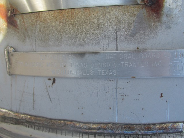 Lot 44 - 180 Gal Tolan Reactor Body, 304 S/S, 140/100#