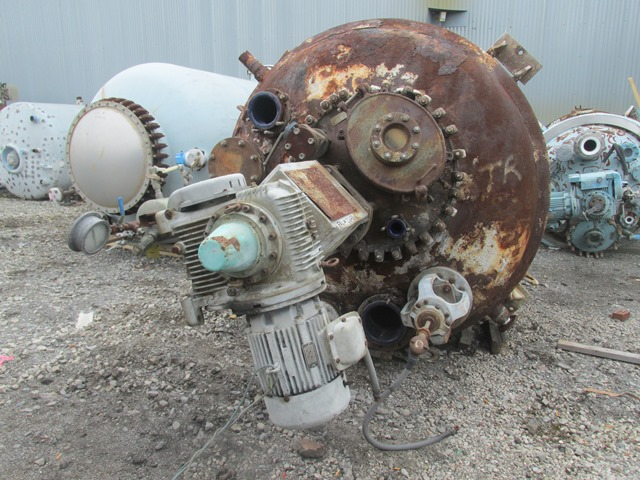 Lot 50 - 2000 Gal Pfaudler Glass Lined Reactor
