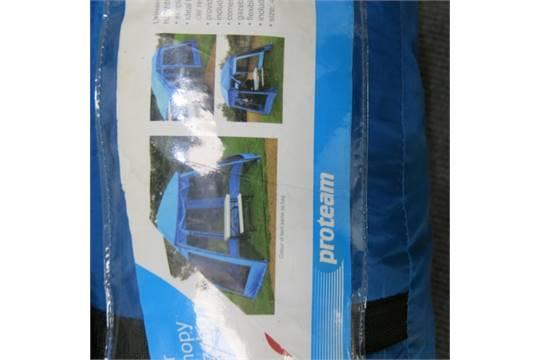 best service 175d0 ddf7a Camping Equipment. Pro-Team Car Canopy Gazebo in Blue ...