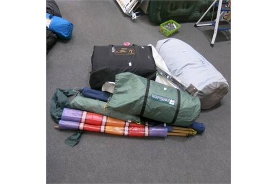 Sundry items to include Vango Icarus 600 Tent without poles Coleman Tri-Spa  sc 1 st  Bidspotter UK & Camping Equipment. Sundry items to include Vango Icarus 600 Tent ...