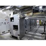 """Melt Blown Beam #1 - 2.5"""" Johnson Plastics Machinery Extruder Carriage With Meltblown Die"""