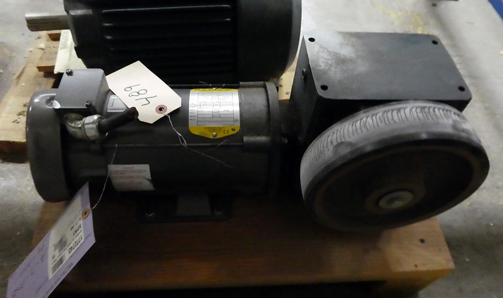 0.75 HP Baldor DC Gearmotor - Image 2 of 3