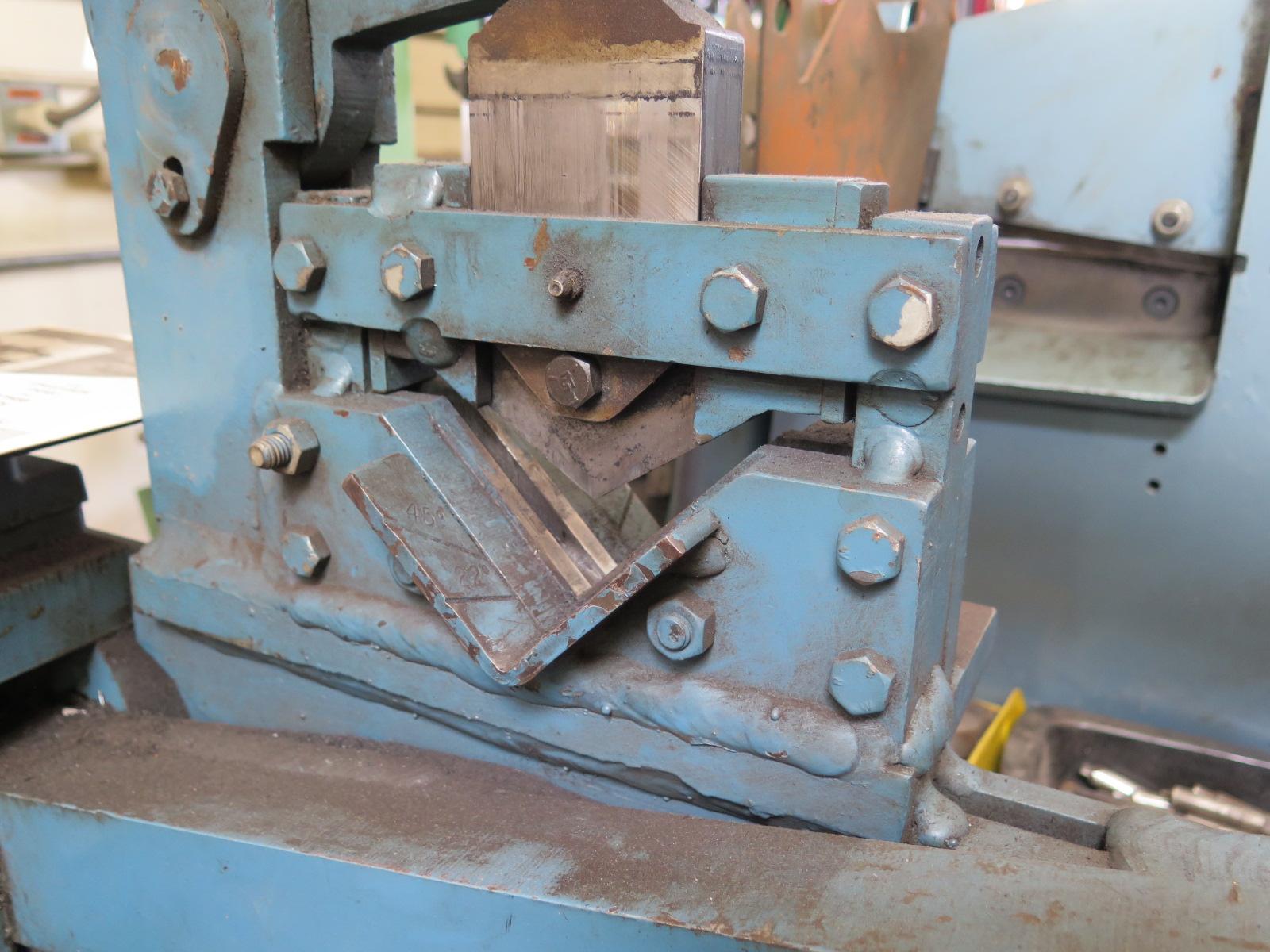 Scotchman Mdl  314 Dvorak Hydraulic Ironworker S  N 5002 W