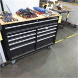 "Husky 46"" X 18"" Roll Work Bench Tool Cabinet"