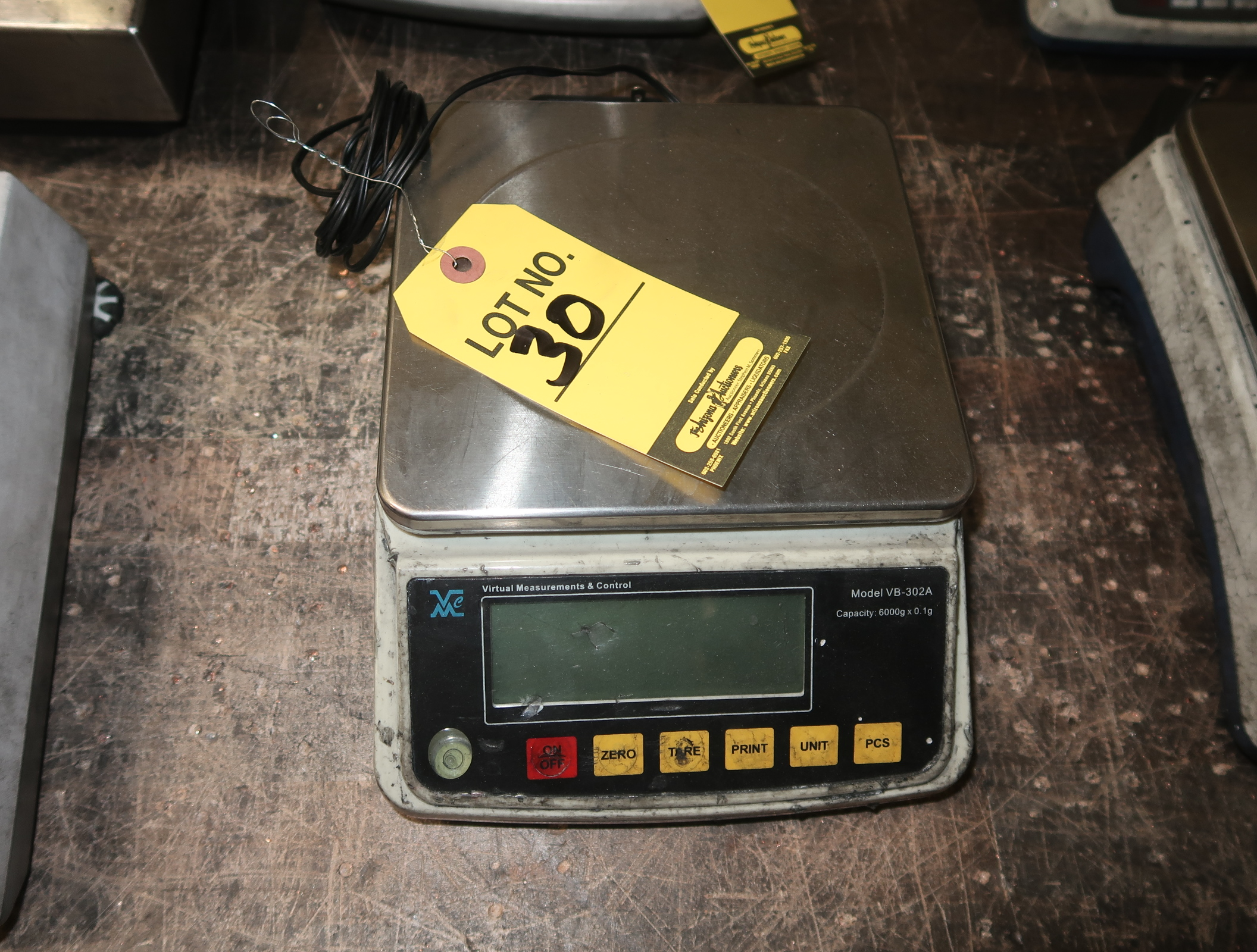 Lot 30 - VIRTUAL MEASUREMENTS & CONTROL SCALE MDL. VB-302A