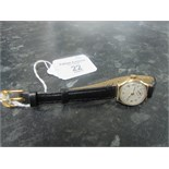 Lot 22 - Ladies 9ct gold Dennison cased watch