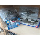 Lot 51 - 4 new and boxed model toy helicopters and planes