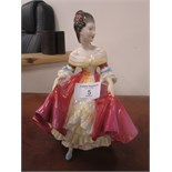 Lot 5 - Doulton figure 'Southern Belle'