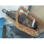 Lot 31 - Vintage wine in basket