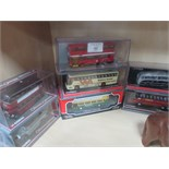Lot 40 - 7 Corgi 00c boxed buses and coaches.