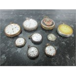Lot 15 - 9 assorted pocket watches
