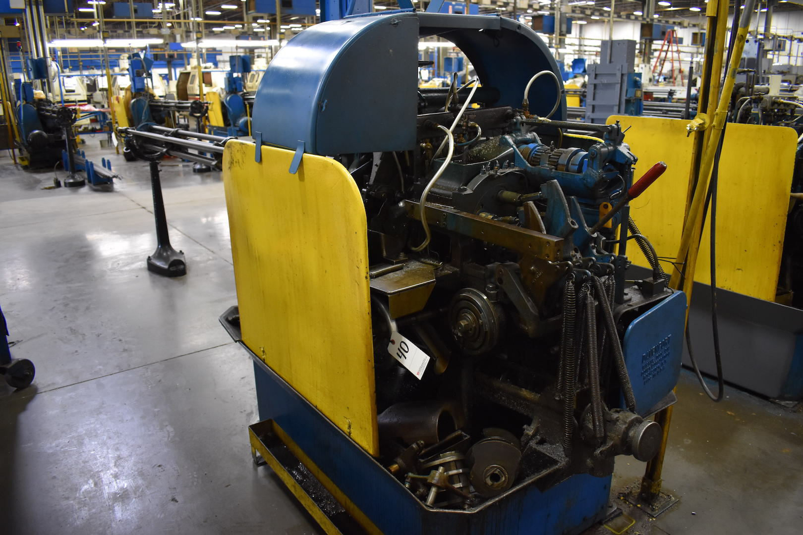 Lot 40 - DAVENPORT MODEL B OVERSIZE 5-SPINDLE AUTOMATIC SCREW MACHINE:(EXCLUDES 4-POSITION CROSS SLIDE)