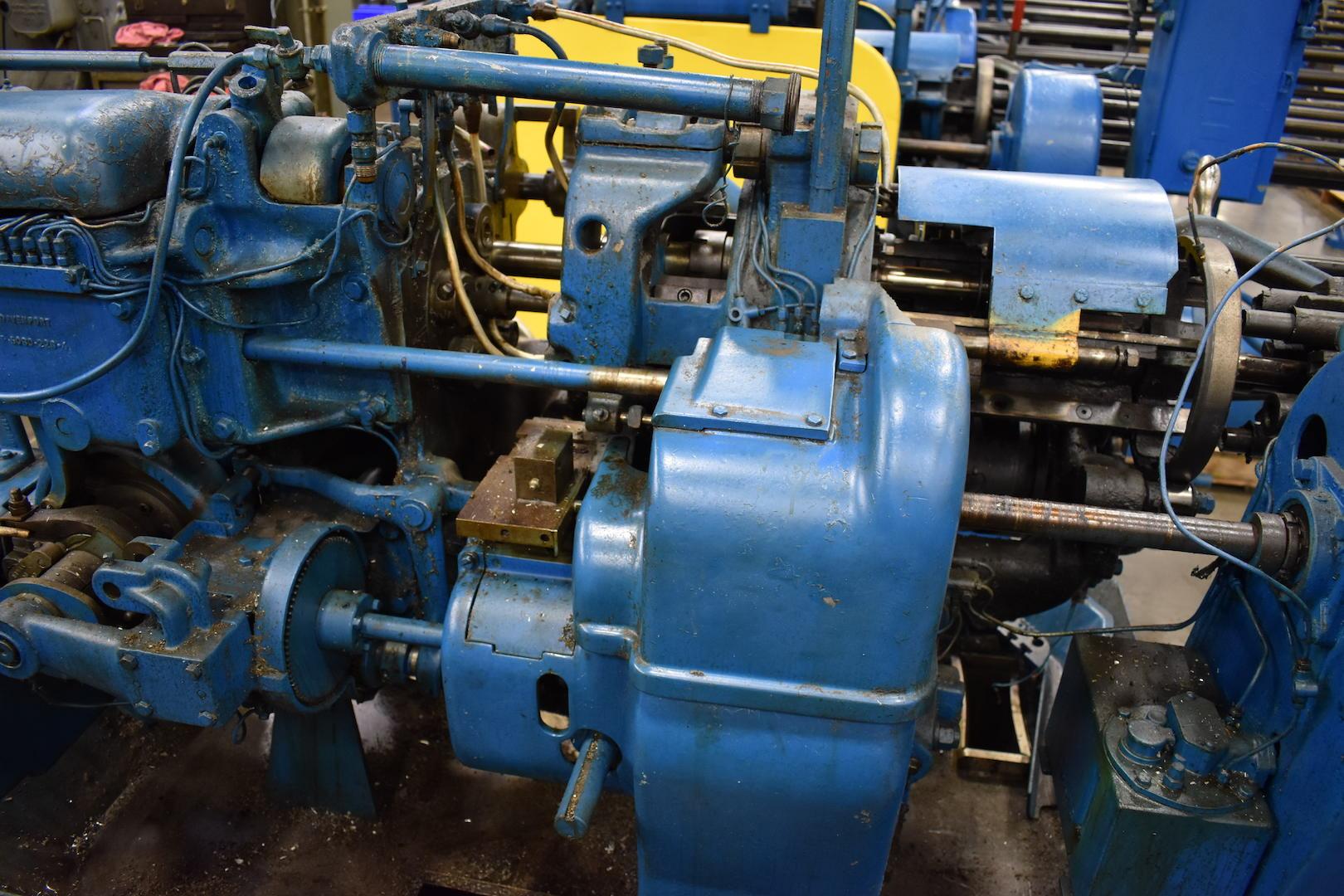 Lot 38 - DAVENPORT MODEL B OVERSIZE 5-SPINDLE AUTOMATIC SCREW MACHINE