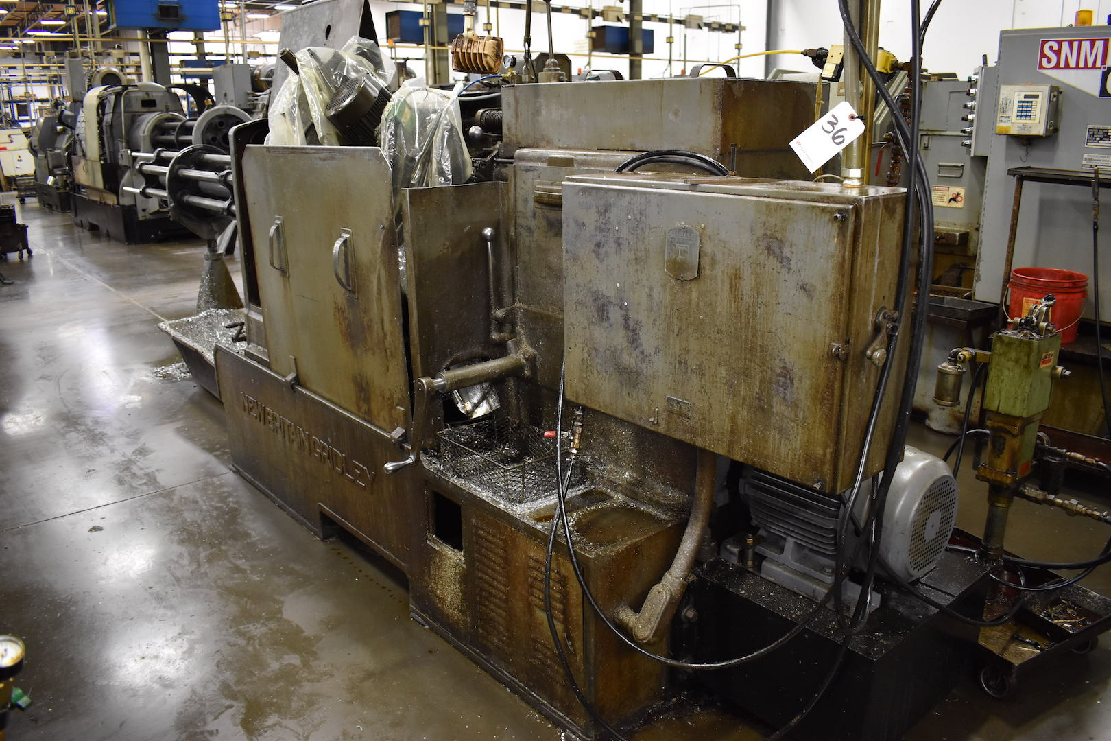 Lot 36 - NEW BRITAIN NO. 61 6-SPINDLE AUTOMATIC SCREW MACHINE