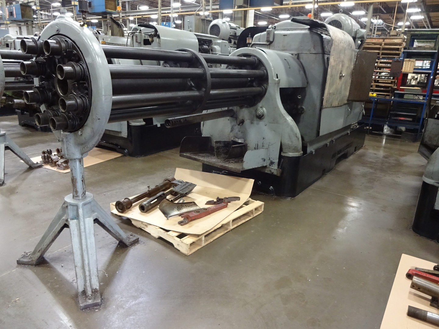 "Lot 6 - ACME-GRIDLEY 2-5/8"" MODEL RB-8 8-SPINDLE AUTOMATIC SCREW MACHINE"