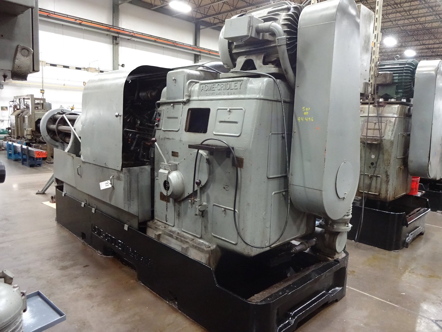 """Lot 31 - ACME-GRIDLEY 3-1/2"""" MODEL RB-6 6-SPINDLE AUTOMATIC SCREW MACHINE"""