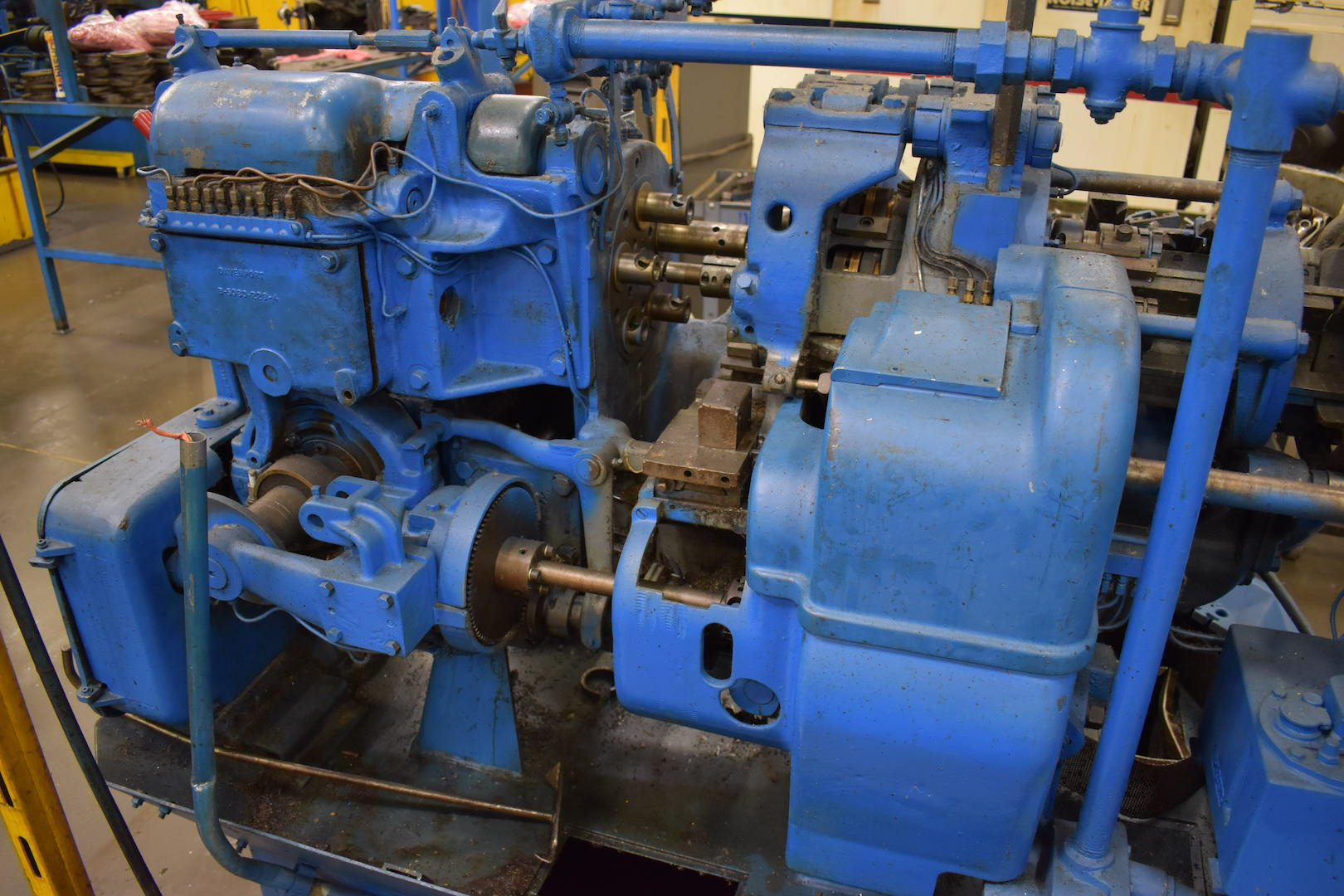 Lot 46 - DAVENPORT MODEL B OVERSIZE 5-SPINDLE AUTOMATIC SCREW MACHINE