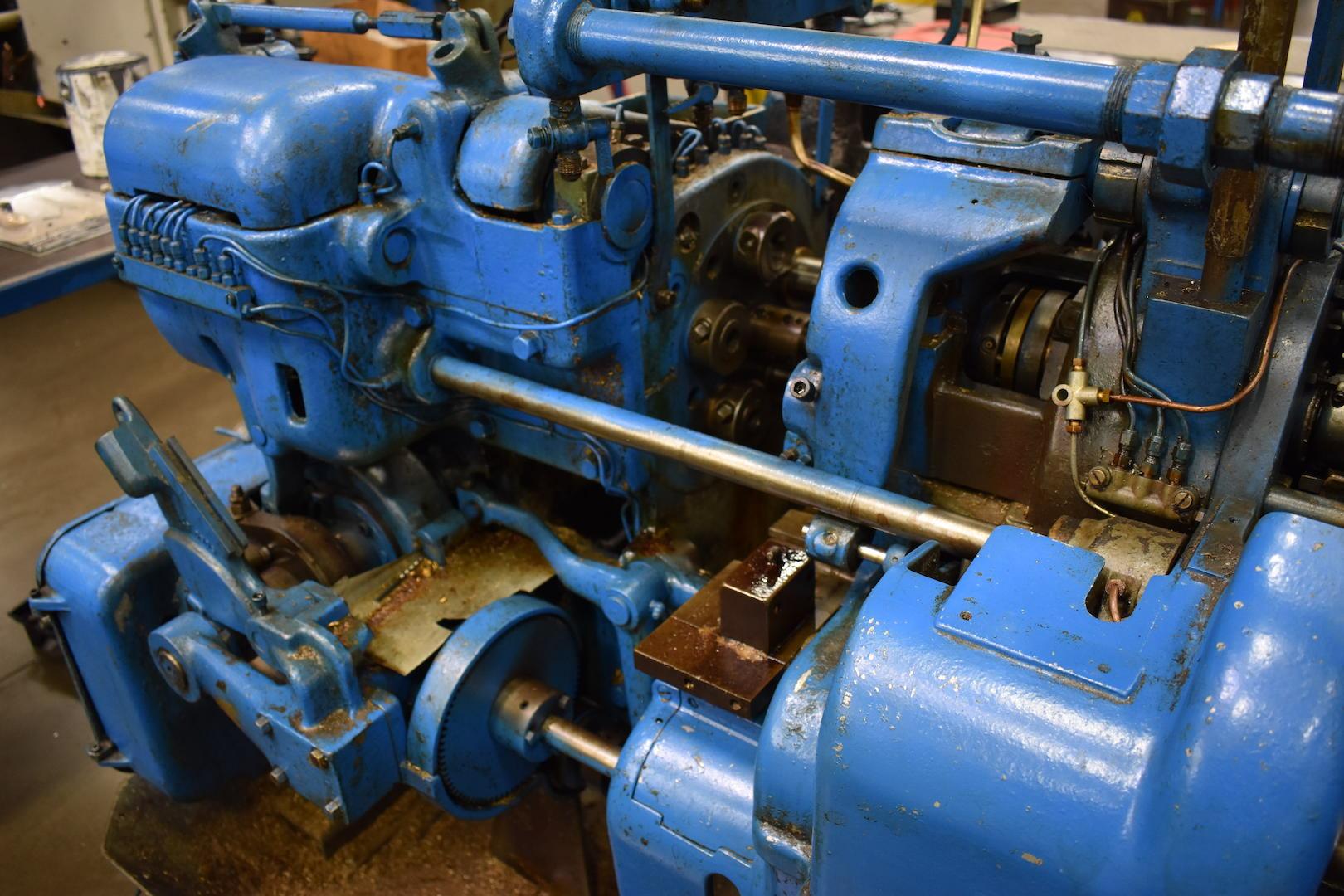 Lot 44 - DAVENPORT MODEL B OVERSIZE 5-SPINDLE AUTOMATIC SCREW MACHINE