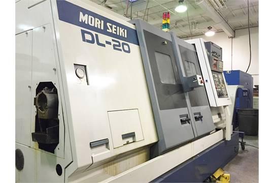 Mori Seiki DL20 Dual Spindle CNC Lathe, Mori Fanuc MFD6 CNC