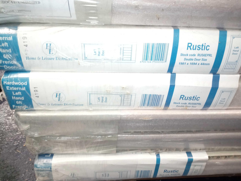 Rrp £1225 Brand New Rustic Left Hand Doors - Image 3 of 3