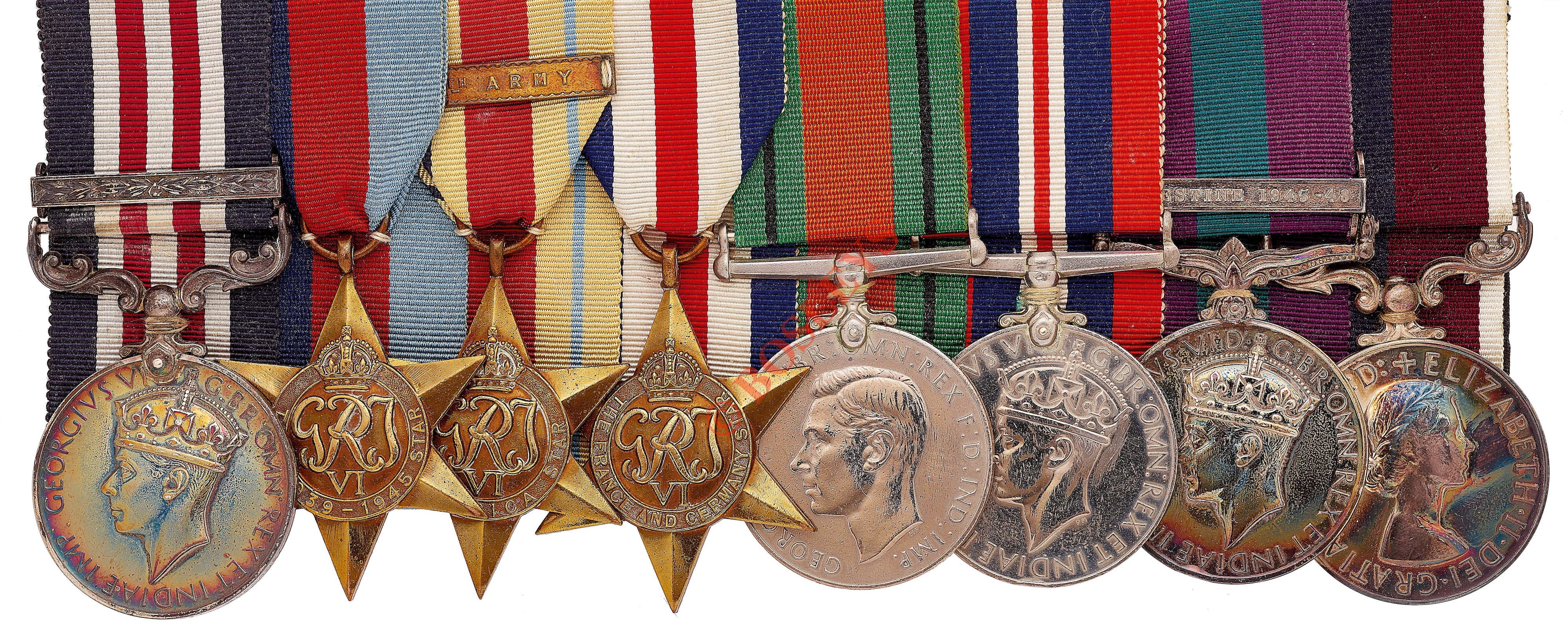 Lot 473 - Special Air Service Regimentally Important SAS Founding Father's Military Medal & Bar Group of 8