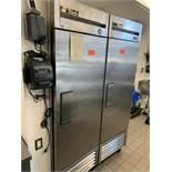 True single door freezer, M: T-23F, SN: 8498056